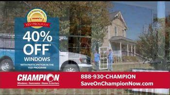 Champion Windows Home Makeover Sale TV Spot, 'Save Big' - Thumbnail 5