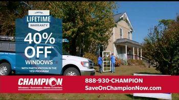 Champion Windows Home Makeover Sale TV Spot, 'Save Big' - Thumbnail 6