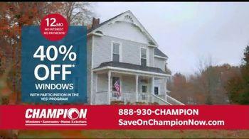 Champion Windows Home Makeover Sale TV Spot, 'Save Big' - Thumbnail 7