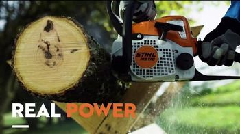 STIHL TV Spot, 'Real People: Battery-Powered Blower and Trimmer Bundle' - Thumbnail 3