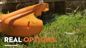STIHL TV Spot, 'Real People: Battery-Powered Blower and Trimmer Bundle' - Thumbnail 4