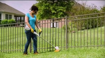 STIHL TV Spot, 'Real People: Battery-Powered Blower and Trimmer Bundle' - Thumbnail 6