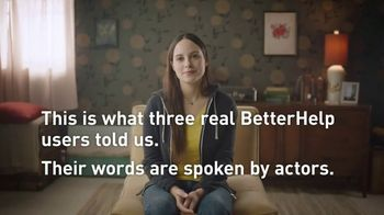 BetterHelp TV Spot, 'User Stories' - Thumbnail 3