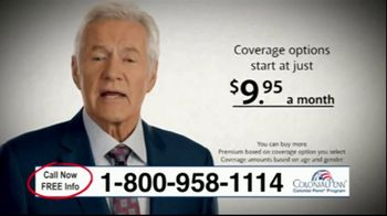 Colonial Penn Whole Life Insurance TV Spot, 'The Need for Supplements' Featuring Alex Trebek - Thumbnail 4