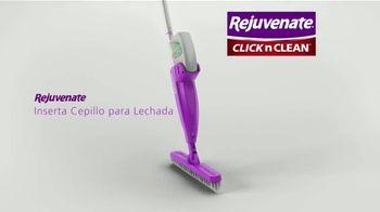 Rejuvenate Click n Clean TV Spot, 'Una limpieza rápida' [Spanish]