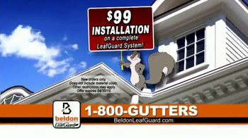 Beldon LeafGuard Home Improvement Days TV Spot, 'Stay Off the Ladder' - Thumbnail 6