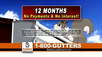 Beldon LeafGuard Home Improvement Days TV Spot, 'Stay Off the Ladder' - Thumbnail 7