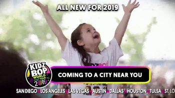 Kidz Bop World Tour 2019 TV Spot, 'The Ultimate Family-Friendly Concert Experience'