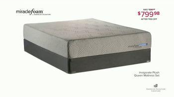 American Signature Furniture Spring Coupon Sale TV Spot, 'Miracle Foam Sets' - Thumbnail 6