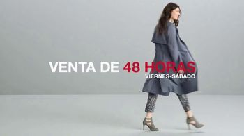 Macy's Venta de 48 Horas TV Spot, 'Joyería, zapatos y equipaje' [Spanish] - Thumbnail 3