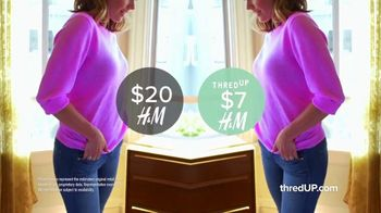 thredUP TV Spot, 'New Looks With Like-New Clothes: 20 Percent Off' Song by Dante Elephante - Thumbnail 4