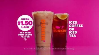 Dunkin' Donuts TV Spot, 'Afternoon Slump: Iced Coffee or Tea' - Thumbnail 7