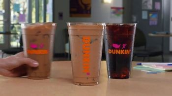 Dunkin' Donuts TV Spot, 'Afternoon Slump: Iced Coffee or Tea' - Thumbnail 1