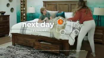 Ashley HomeStore Anniversary Mattress Sale TV Spot, 'Next Day Delivery' Song by Midnight Riot - Thumbnail 6