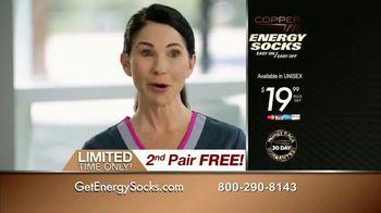 Copper Fit Energy Socks TV Spot, 'Slip Right On' - Thumbnail 10