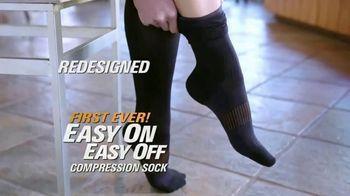Copper Fit Energy Socks TV Spot, 'Slip Right On' - Thumbnail 2