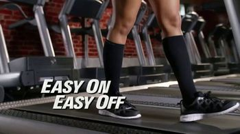 Copper Fit Energy Socks TV Spot, 'Slip Right On'