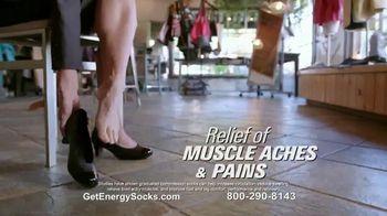 Copper Fit Energy Socks TV Spot, 'Slip Right On' - Thumbnail 5