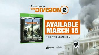 Tom Clancy's The Division 2 TV Spot, 'The Reviews Are In' - Thumbnail 9