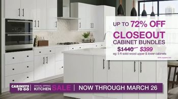 Cabinets To Go Annual Spring Kitchen Makeover Sale TV Spot, 'Change Your Kitchen'