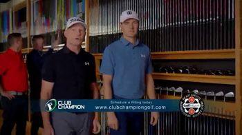Club Champion TV Spot, 'Club Champion Custom Fitting' Featuring Jordan Spieth, Cameron McCormick - Thumbnail 8