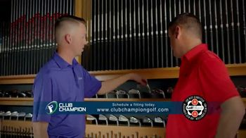 Club Champion TV Spot, 'Club Champion Custom Fitting' Featuring Jordan Spieth, Cameron McCormick - Thumbnail 9