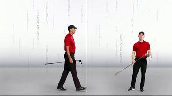 Bridgestone Golf TV Spot, 'Split Screen' Featuring Tiger Woods, Conor Moore - Thumbnail 4