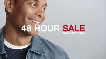 Macy's 48 Hour Sale TV Spot, 'Men's Apparel, Bedding and Kitchen Essentials'