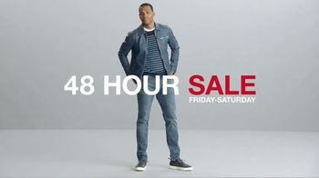 Macy's 48 Hour Sale TV Spot, 'Men's Apparel, Bedding and Kitchen Essentials' - Thumbnail 3