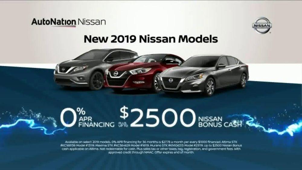 AutoNation 72 Hour Flash Sale TV Commercial, '2019 Nissan Models'