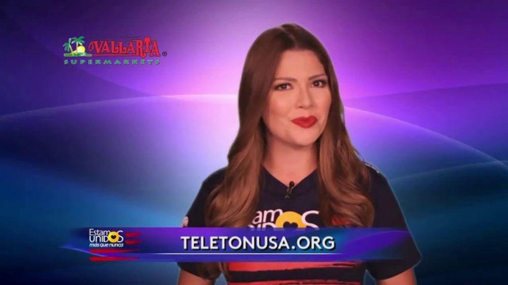 Telet??nUSA TV Commercial, 'Estamos unidos' con Ana Patricia G??mez