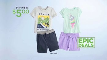 Kohl's Not Your Everyday Sale TV Spot, 'Epic Deals: Tops, Towels and Pillows' - Thumbnail 5