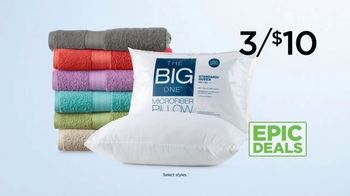 Kohl's Not Your Everyday Sale TV Spot, 'Epic Deals: Tops, Towels and Pillows' - Thumbnail 8