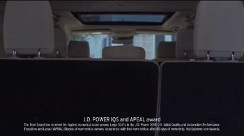 2018 Ford Expedition TV Spot, 'Make Room' [T2] - Thumbnail 3
