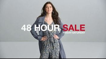 Macy's 48 Hour Sale TV Spot, 'Fine Jewelry, Shoes for Her and Luggage'