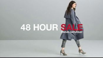 Macy's 48 Hour Sale TV Spot, 'Fine Jewelry, Shoes for Her and Luggage' - Thumbnail 3