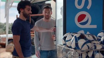 Pepsi TV Spot, 'The Last Can Standing' Ft. Lionel Messi, Mohamed Salah, Song by Gold Brother