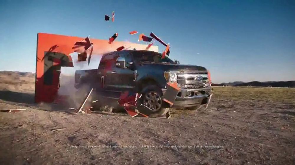 Ford Truck Month TV Commercial, 'Making & Breaking the Rules' [T2]