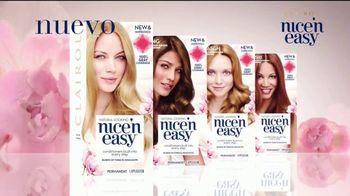 Clairol Nice 'N Easy TV Spot, 'Cuida tu cabello' [Spanish] - Thumbnail 10