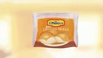 Rhodes Bake-N-Serv TV Spot, 'Fresh From Your Oven' - Thumbnail 1