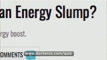 Usana TV Spot, 'Dr. Oz: In a Slump' - Thumbnail 8
