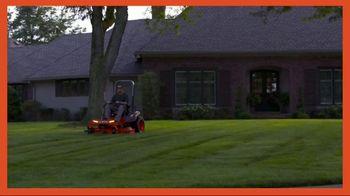 Kubota Z100 TV Spot, 'A Lawn Worth Admiring' - Thumbnail 1