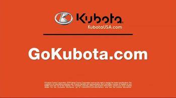 Kubota Z100 TV Spot, 'A Lawn Worth Admiring' - Thumbnail 10