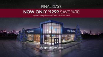 Sleep Number Lowest Prices of the Season TV Spot, 'Final Days: 360 c4 Smart Bed'