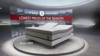Sleep Number Lowest Prices of the Season TV Spot, 'Final Days: 360 c4 Smart Bed' - Thumbnail 2