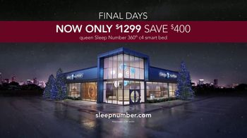 Sleep Number Lowest Prices of the Season TV Spot, 'Final Days: 360 c4 Smart Bed' - Thumbnail 7