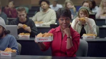 Popeyes 3-Pieces & Biscuit TV Spot, 'Econ 101' - 2724 commercial airings