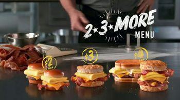 Hardee's 2 3 More Menu TV Spot, 'Crunching Numbers' - Thumbnail 9