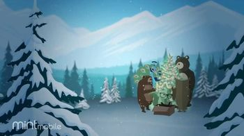 Mint Mobile TV Spot, 'Holidays: 3 Months of Wireless for $20: Yeti' - Thumbnail 1