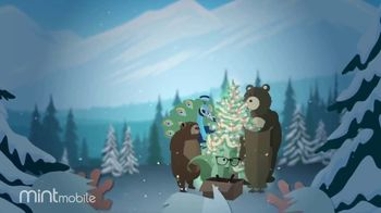 Mint Mobile TV Spot, 'Holidays: 3 Months of Wireless for $20: Yeti' - Thumbnail 2